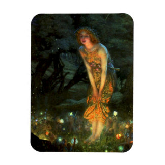 Fairy Circle Fairies Midsummer Eve Magnet