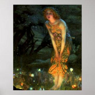 Fairy Circle Fairies Midsummer Eve Poster