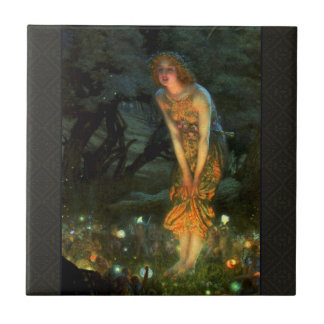 Fairy Circle Fairies Midsummer Eve Tile