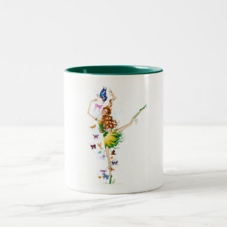 Fairy Collection Two-Tone Coffee Mug