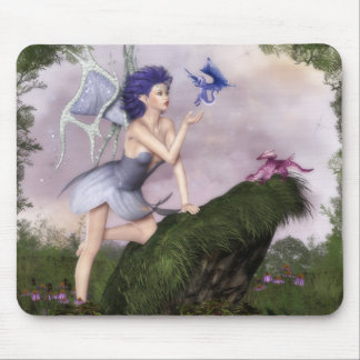 Fairy Conversations: Dragons Mouse Pad