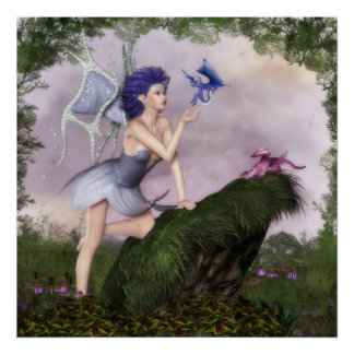 Fairy Conversations: Dragons Poster