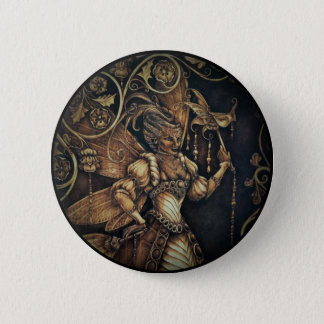 Fairy Court - The Wasp - Button Pin