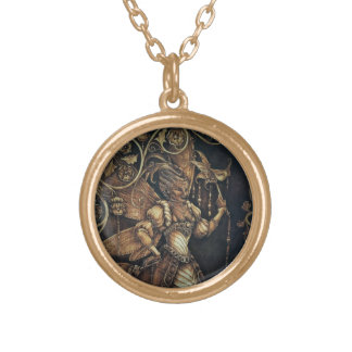 Fairy Court - The Wasp - Goldtone Necklace