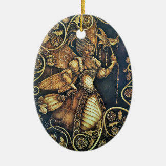 Fairy Court - The Wasp - Oval Ornament