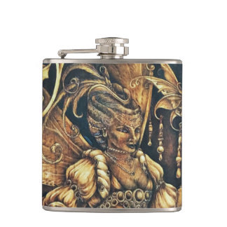 Fairy Court - The Wasp - Wrapped Flask