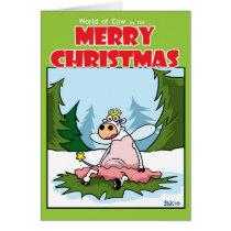 Fairy Cow Card