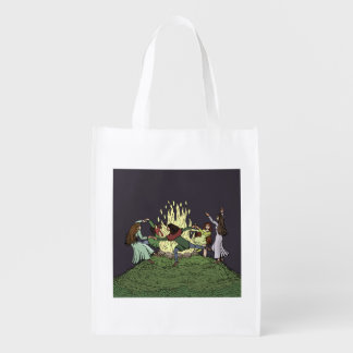 Fairy Dance Grocery Bag