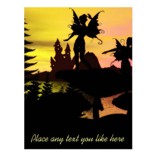 Fairy dance postcard