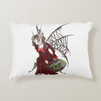 fairy dark accent pillow