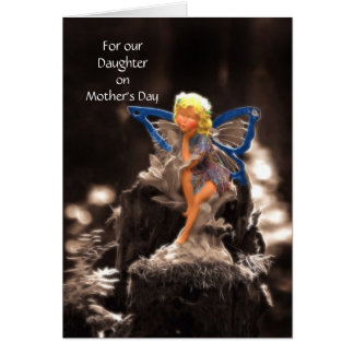 Fairy - Daughter on Mother's Day Card