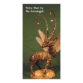 'Fairy Deer' by The Kuriologist Card