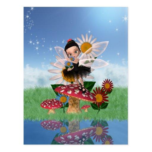 Fairy Digital Art Post Card - Cute Postcard