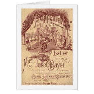 Fairy Doll Ballet - Die Puppenfee - Josef Bayer Card