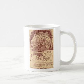 Fairy Doll Ballet Classic White Coffee Mug