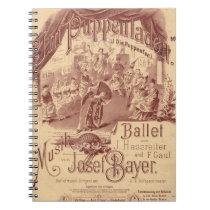 Fairy Doll Ballet Notebook
