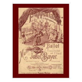 Fairy Doll Ballet Postcard