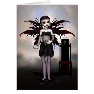 Fairy Doll Lilly - Greeting Card