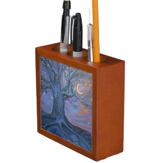 Fairy Door Messenger Desk Caddy Pencil/Pen Holder