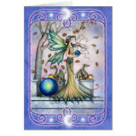 Fairy Dragon Blank Greeting Card