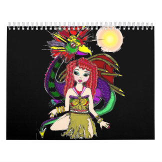 fairy dragon calendar
