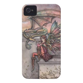 Fairy Dragon Fantasy Art iPhone Case iPhone 4 Cases