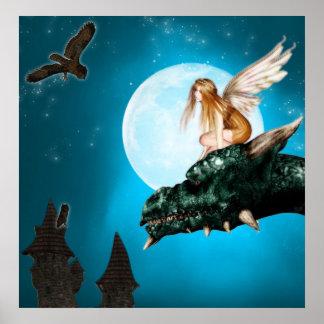 Fairy Dragon Fantasy poster