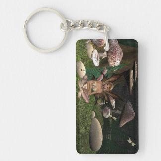 Fairy Dragon flies Keychain