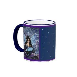Fairy Dragon Mug by Molly Harrison mug