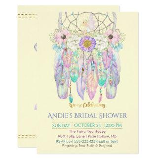 Fairy Dream Catcher Boho Any Color Paper Card