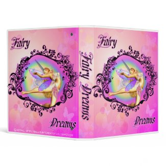 Fairy Dreams Binder binder