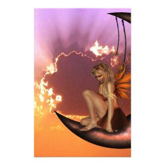 Fairy Dreams Stationery Design