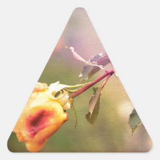 Fairy Drops Triangle Sticker
