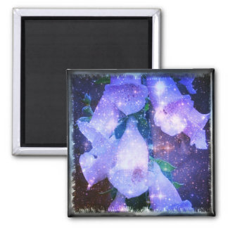 Fairy Dust 2 Inch Square Magnet