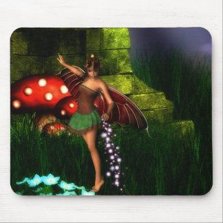 Fairy Dust and Magic Dreams Mousepad