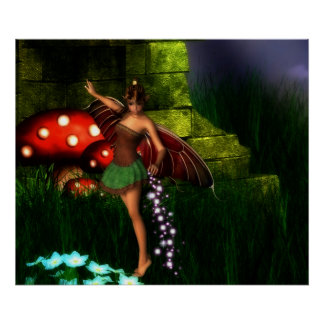 Fairy Dust and Magic Dreams Poster