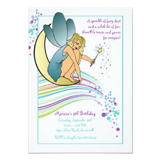 Fairy Dust Birthday Party Invitation