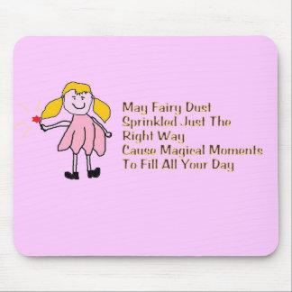 Fairy Dust Sprinkles Mousepad