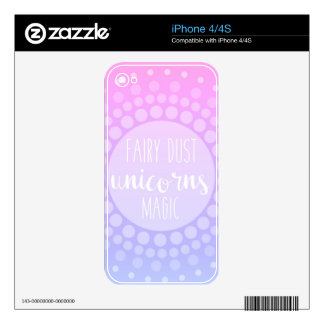 Fairy Dust, Unicorns & Magic iPhone 4 Decals