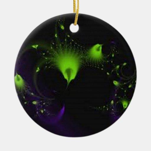 fairy-dustgreen christmas tree ornaments