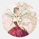 Fairy Envelope Seal Round Sticker