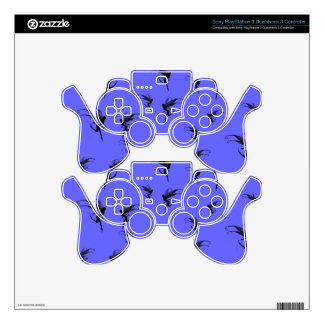 fairy, fairies, fairytale world pad decal PS3 controller decals