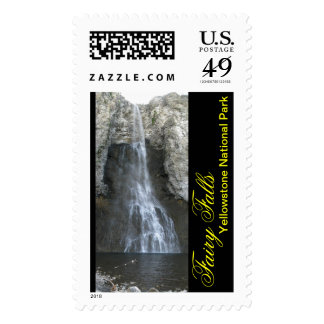 Fairy Falls in Yellowstone Postage Stamps