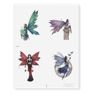 Fairy Fantasy Art Temporary Tattoos