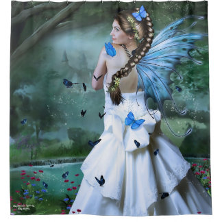 Fairy Fantasy Shower Curtain