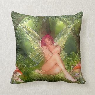Fairy Fantasy Throw Pillow