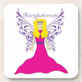 Fairy Fashionista Drink Coasters