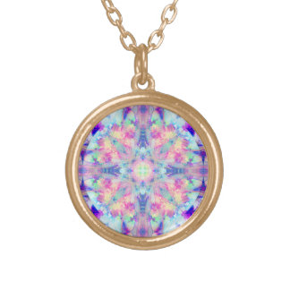 Fairy Fire Cross  Necklace