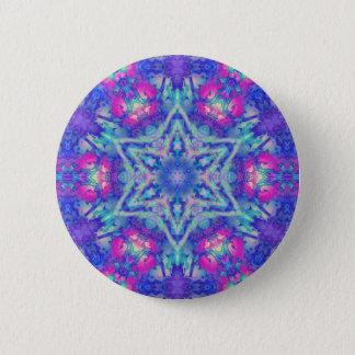 Fairy Fire Hexagram  Button