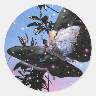 Fairy Flight! Classic Round Sticker
